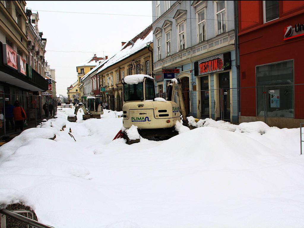 Pavel Kumer_Obnovo ulice varuje sneg