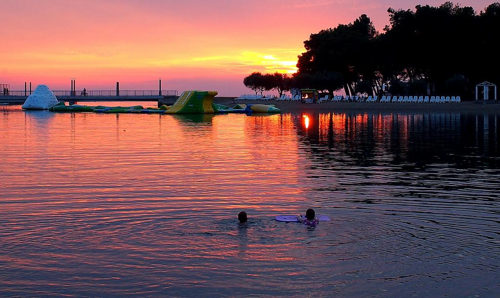 Valentin Steblovnik_Večerno plavanje