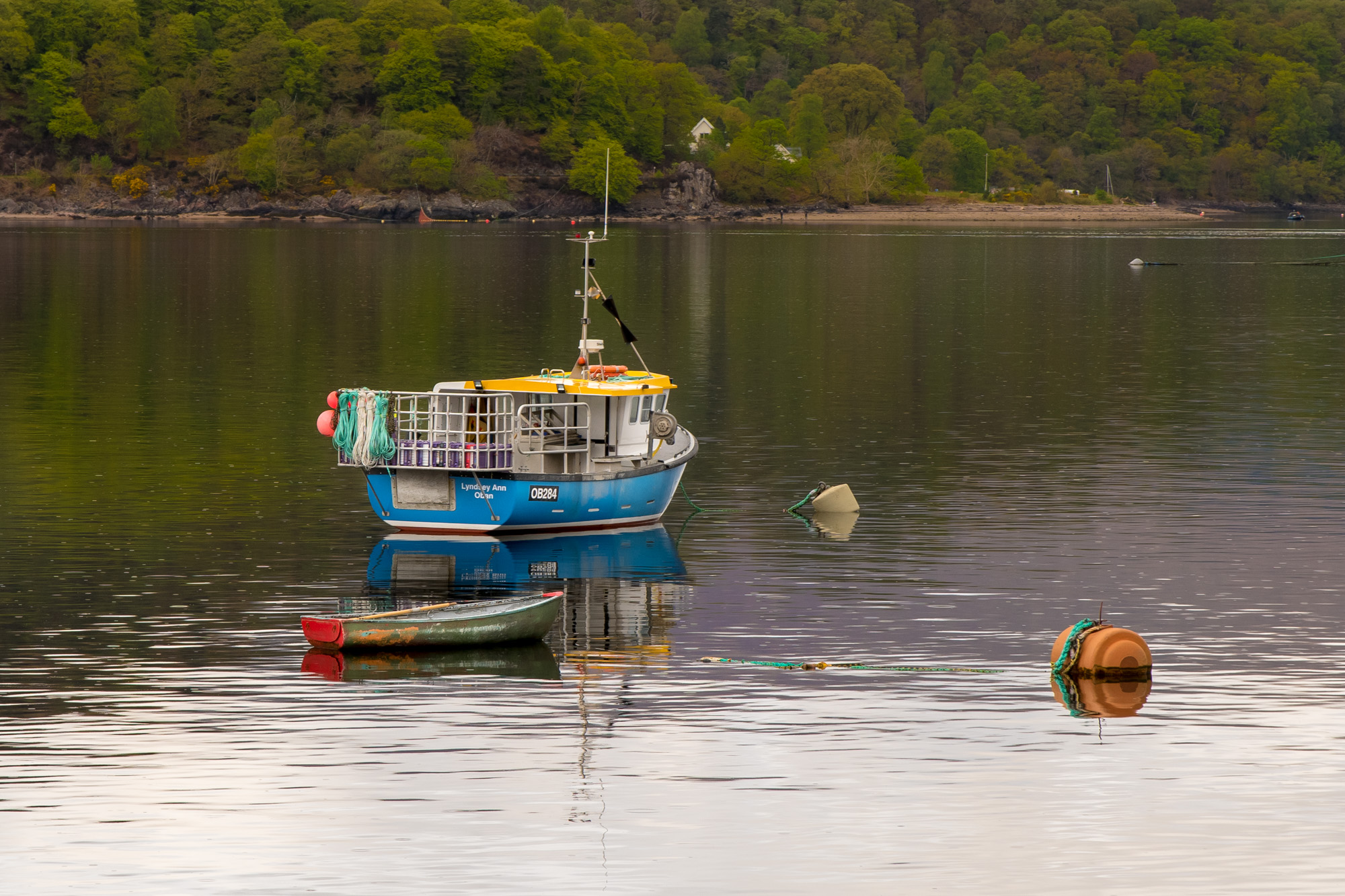 Peter Ocvirk: Ribiški čoln-Škotska
