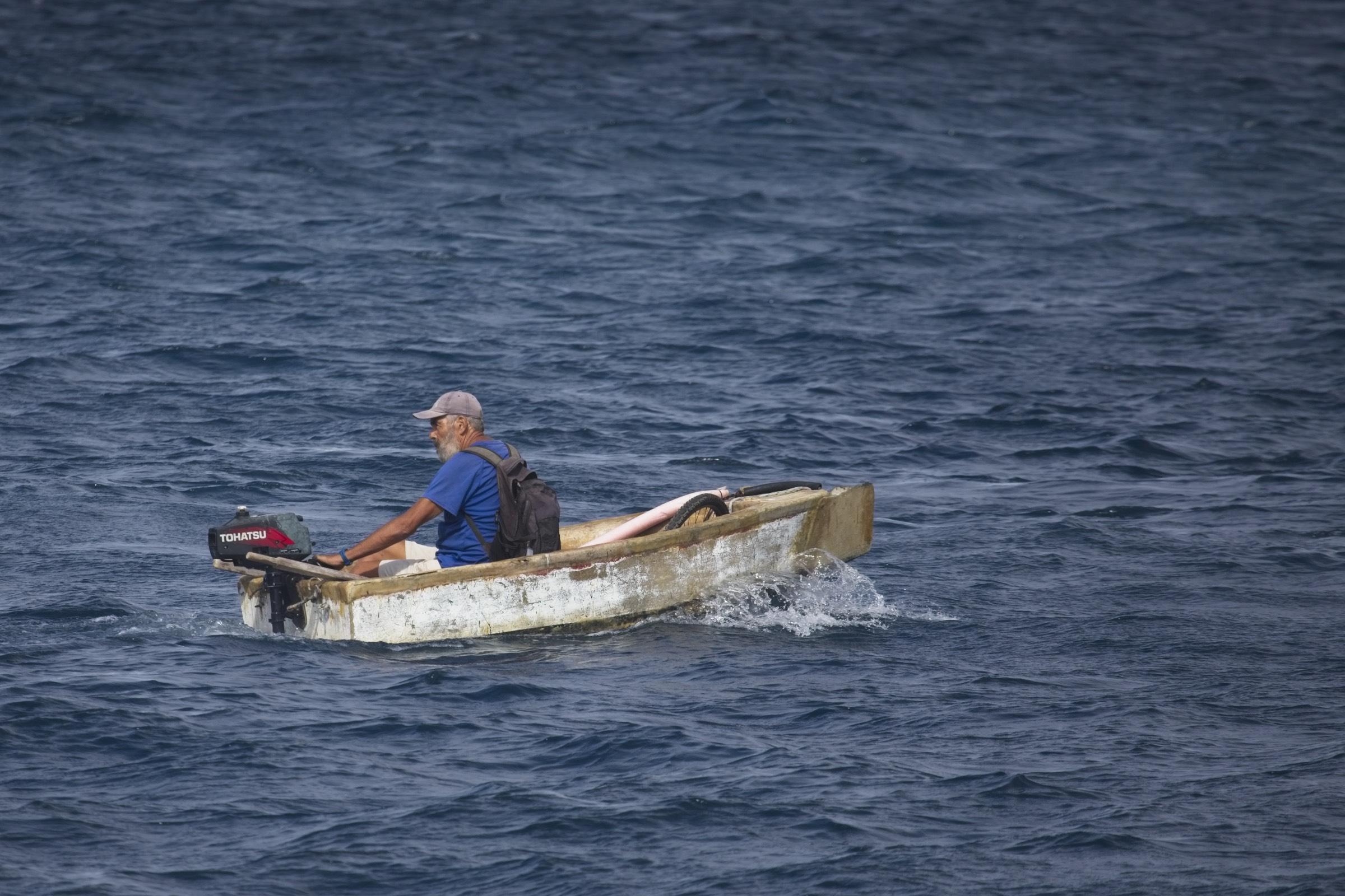 Robert Gajšek: Starec in morje