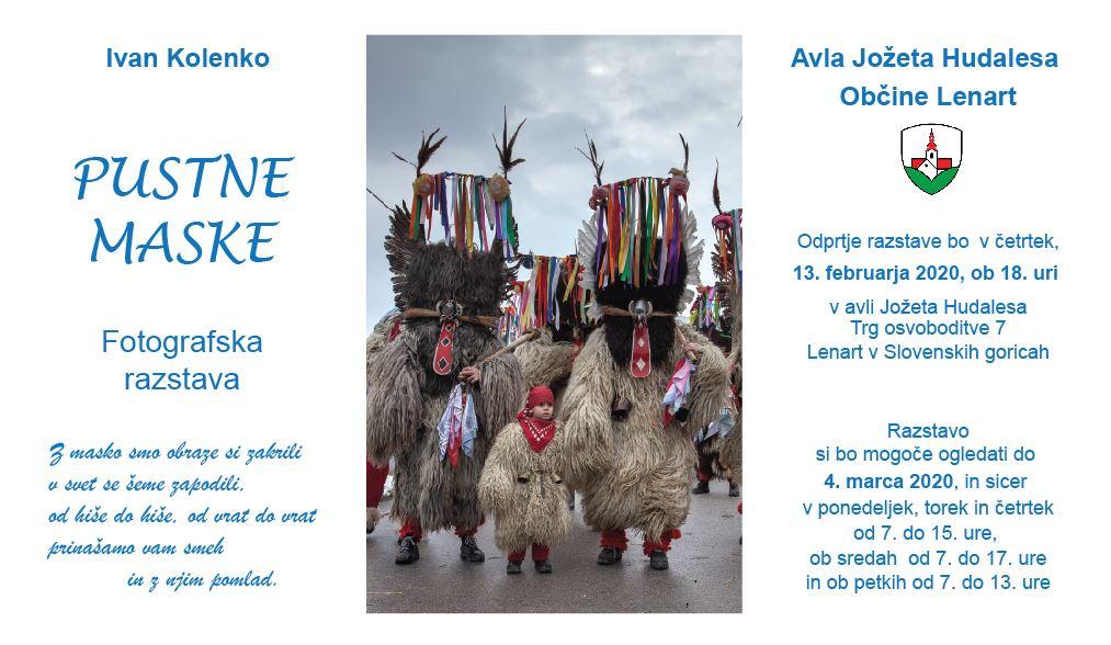 Pustne maske – Ivan Kolenko